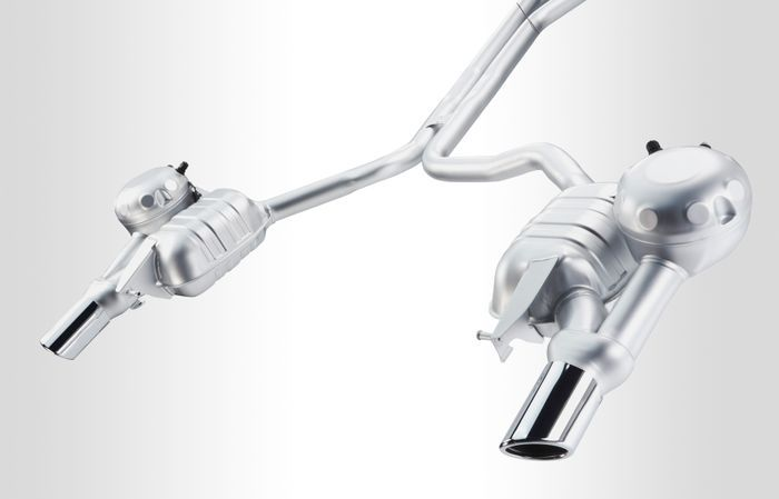 Audi Active Sports Exhaust