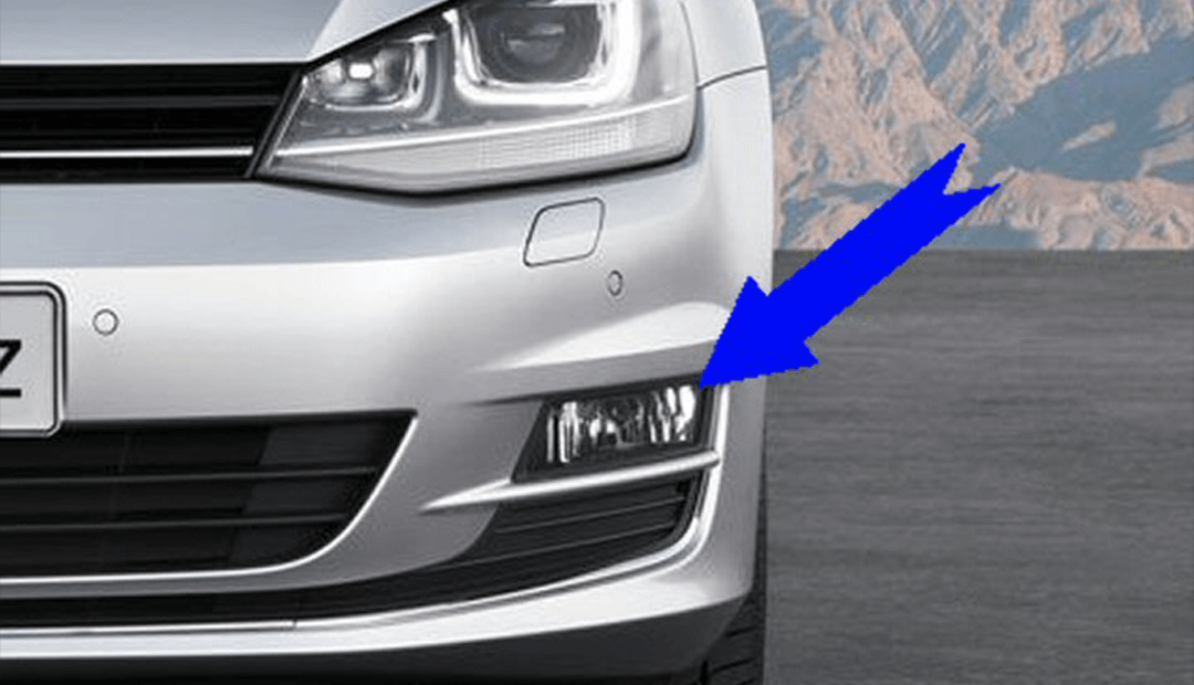 Fog Lights Mk7 Golf - Supply & Fit with Static Cornering