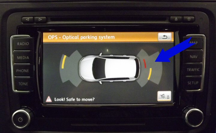 Front & Rear Optical Parking Sensors - Genuine Vw - Supply & Fit