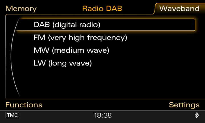 Genuine Audi MMI 3G DAB Radio Supply & Fit (MMi 3G Basic, High, Plus)