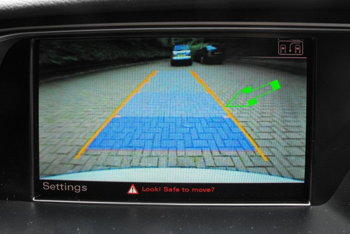 Genuine Audi Reverse Camera Supply & Fit - MMI 3G Basic, 3G High & 3G Plus A4 8K, A5 8T Q3 8U, Q5 8R