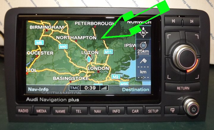 genuine audi rns e 2g sat nav supply fit a2 8z a3 8l a6 4b rh hazzydayz com Porsche Navigation BMW Navigation