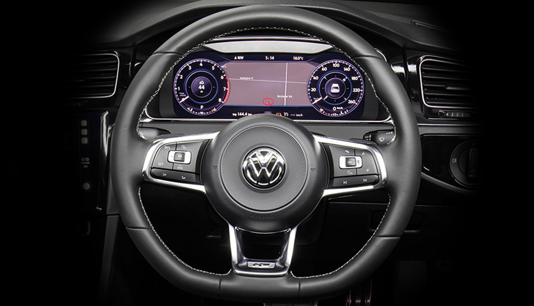 Genuine Volkswagen Steering Wheel Upgrades
