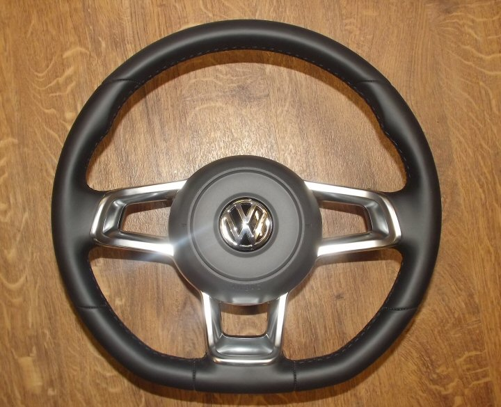 Mk7 Flat Bottom Steering Wheel and Airbag - Supply & Fit