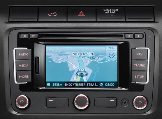 VW RNS-315 Sat Nav, DAB Radio & Bluetooth and AUX - Supply & Fit
