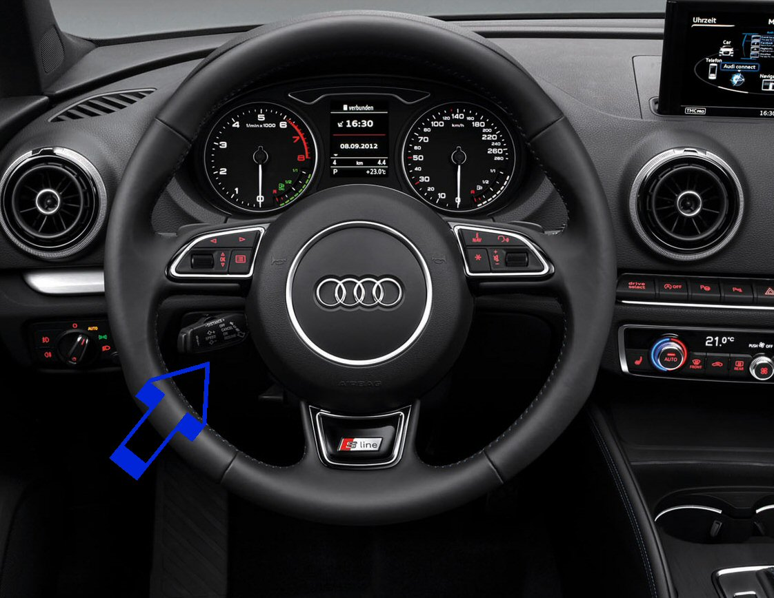 audi a3 8v cruise control. Black Bedroom Furniture Sets. Home Design Ideas