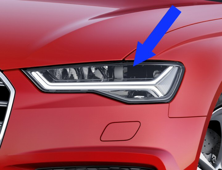 2018 Audi A6 Headlights