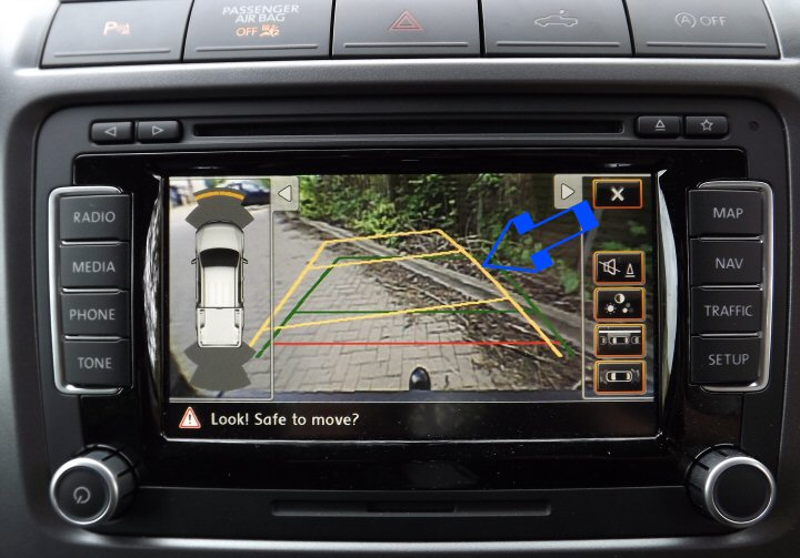 GENUINE VW REVERSE CAMERA