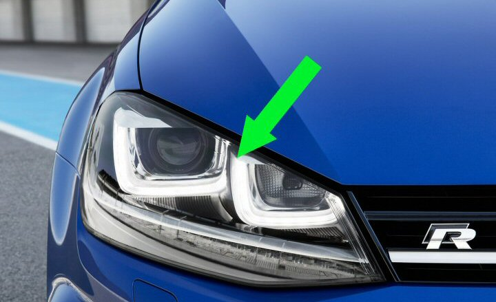Bi-Xenon Headlights with LED DRLs - Golf Mk7 - Supply & Fit