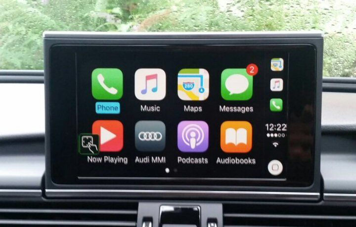audi smart phone interface apple carplay for mib ii a6 4g. Black Bedroom Furniture Sets. Home Design Ideas