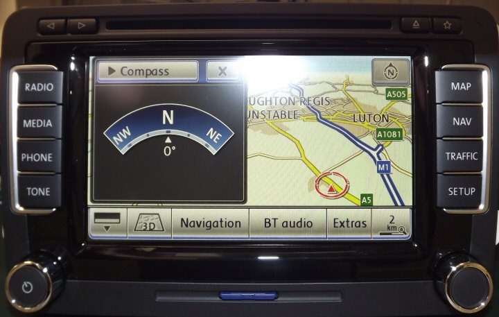 VW RNS-510 With SAT NAV, DVD Player Supply & Fit *Refurbished*