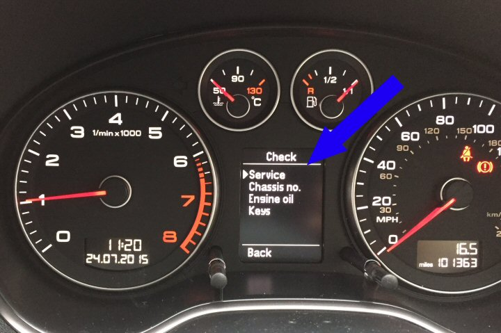 2006 Audi A3 >> White Instrument Cluster Upgrade - A3 8P Supply & Fit