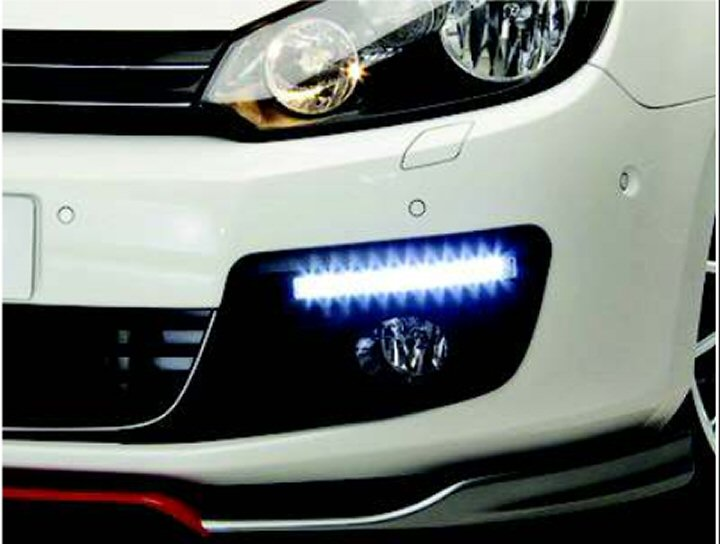Genuine Vw Accessory Front Led Lights Mk6 Golf Supply Amp Fit