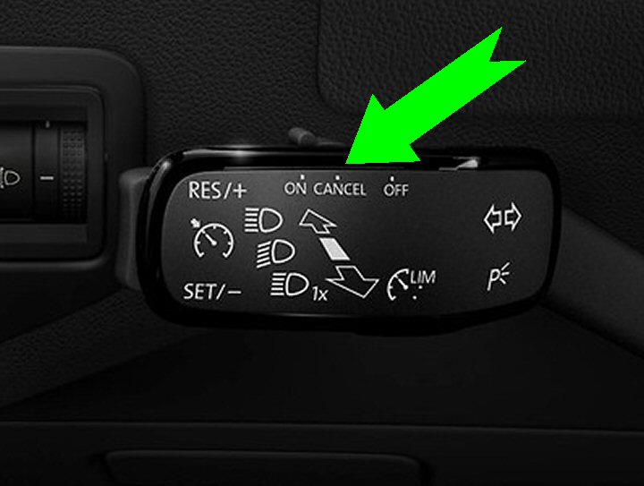 vw mk golf cruise control supply fit