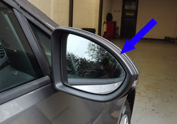Genuine Vw Folding Mirrors With Auto Fold When Locking Via Mib