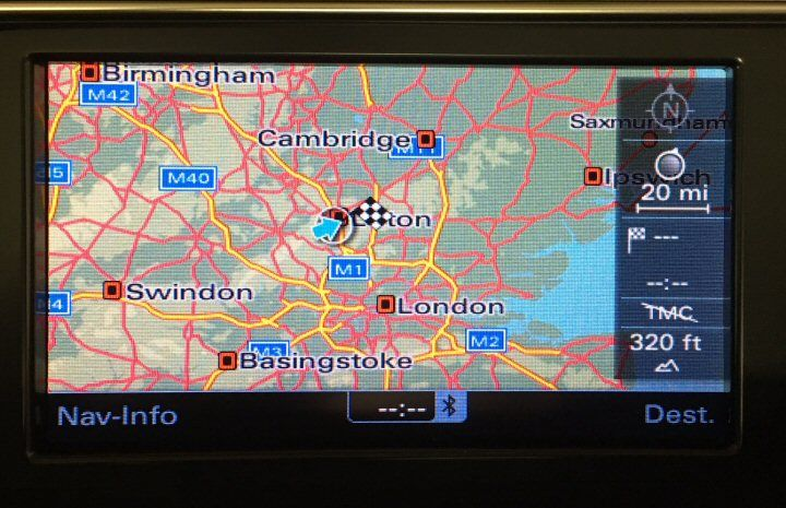 MMi 3G DVD Navigation Upgrade with Bluetooth SDS and 2017 Maps - A6 4F & Q7  4L (09-15)