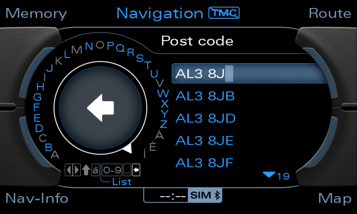 MMi G High Full Postcode And Maps With Latest Firmware Update - Audi mmi update