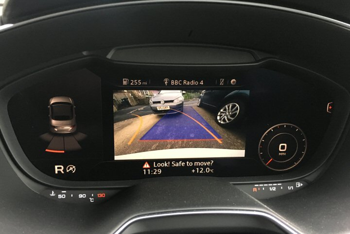 Reverse Camera Highline with Active Guidelines - TT MK3 8S - Supply & Fit
