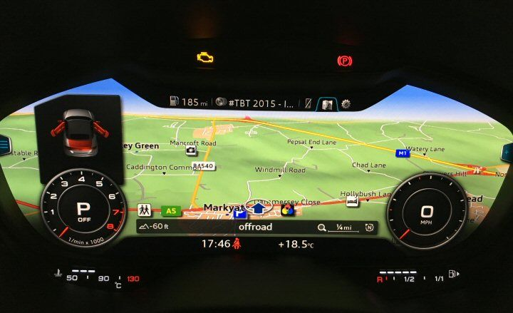 Genuine Audi Navigation Activation for MK3 TT MIB II, Supply and Fit