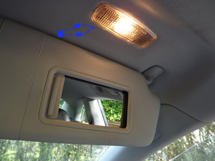 Vanity Lamp In Car : LED Interior Light Packages - Genuine Audi Supply & Fit